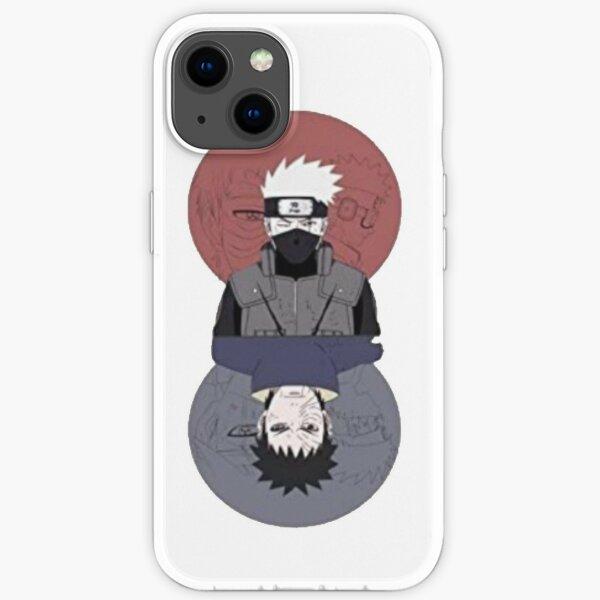 Kakashi und obito iPhone Flexible Hülle