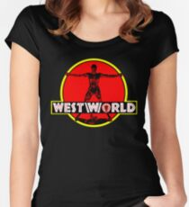 Westworld Park Women's Fitted Scoop T-Shirt