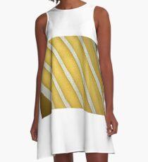 ....a diagonal life.... A-Line Dress