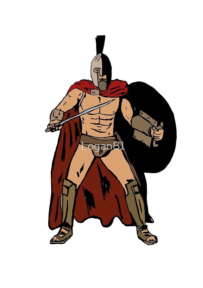 Leonida gladiator by Logan81