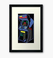 Gaming cabinet Framed Print
