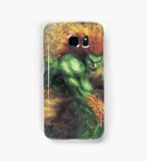 Street Fighter 2 - Blanka Samsung Galaxy Case/Skin