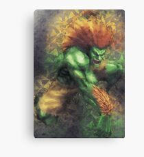 Street Fighter 2 - Blanka Canvas Print