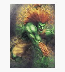 Street Fighter 2 - Blanka Photographic Print