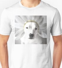 Pittie Flower Unisex T-Shirt