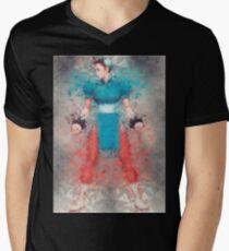 Street Fighter 2 - Chung Le Men's V-Neck T-Shirt