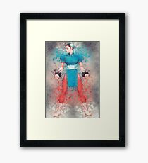 Street Fighter 2 - Chung Le Framed Print