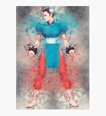 Street Fighter 2 - Chung Le Photographic Print