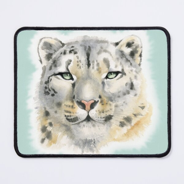 Snow Leopard - Queen of the Mountains Mouse Pad