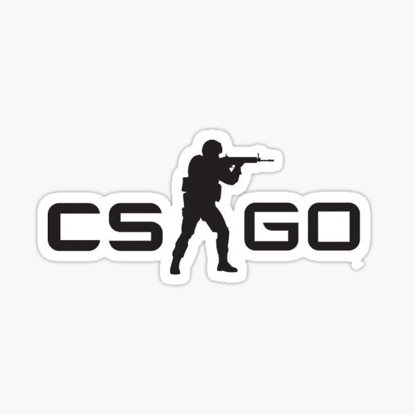 CS GO Logo Counter Strike Global Ofensa Pegatina
