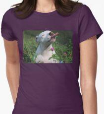 Peanut Butter Fields Women's Fitted T-Shirt