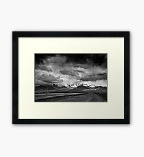 Avant la tempête Framed Print
