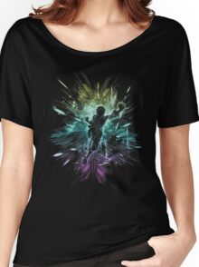 straw hat storm -rainbow Women's Relaxed Fit T-Shirt