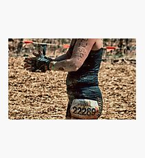 Wearing Mud  Photographic Print