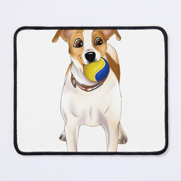 Dog xmas Mouse Pad
