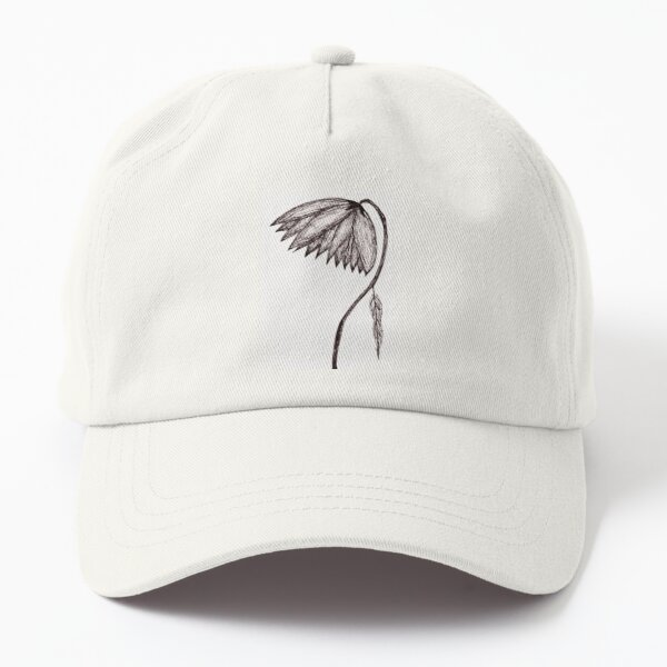 Dying Flower (Right Half). Dad Hat
