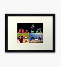 Funny Critters! Framed Print