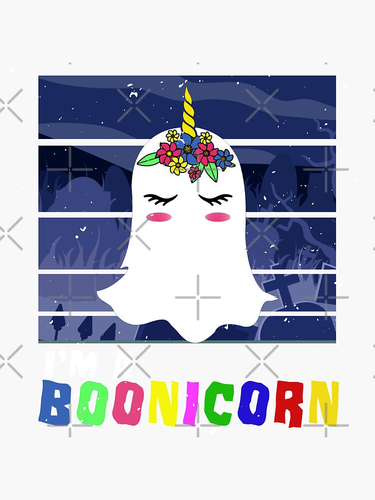 Halloween Ghost Unicorn Ghost by titanosdesign