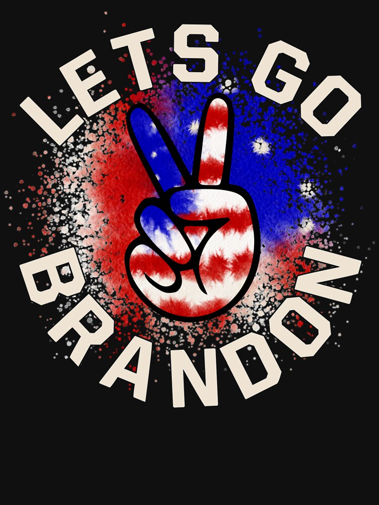 Let's Go Brandon Conservative Anti Liberal US Flag by ngocchuong