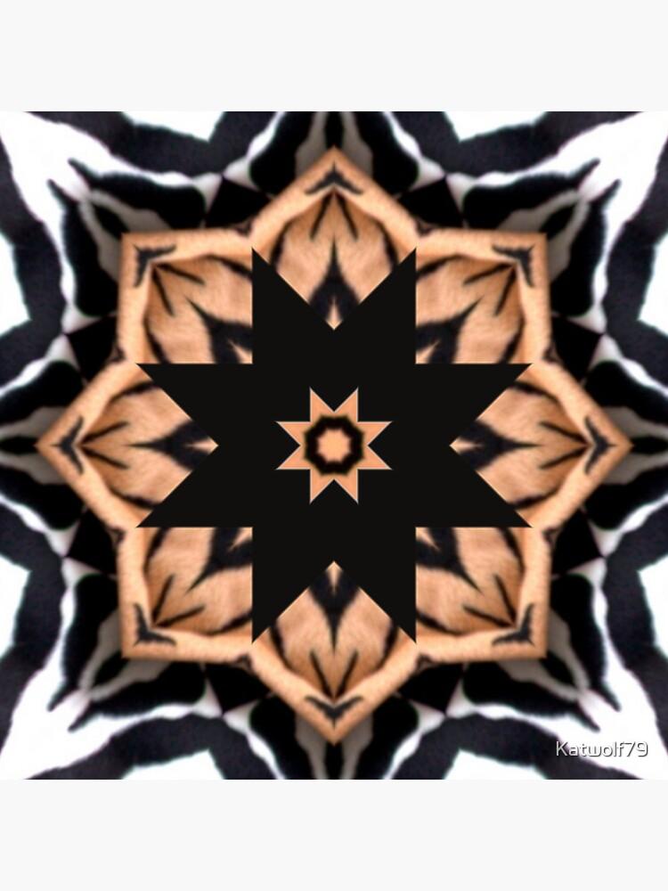 Animal Print Inspired Geometric Pattern Design by Katwolf79