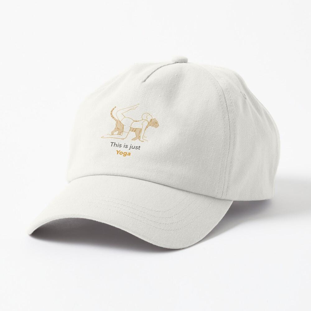 This Is Just Yoga Cap