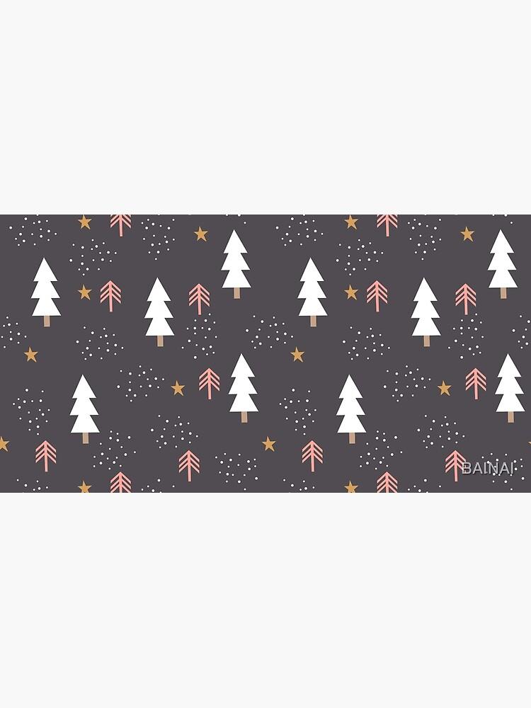 Winter tree pattern by BAINAI