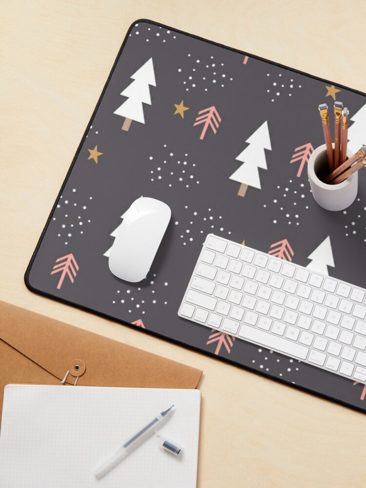Alternate view of Winter tree pattern Mouse Pad