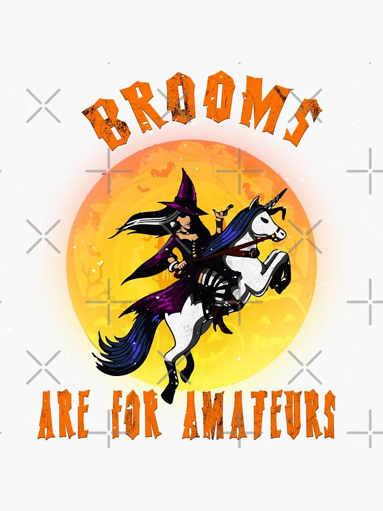 Witches Brooms Halloween by titanosdesign