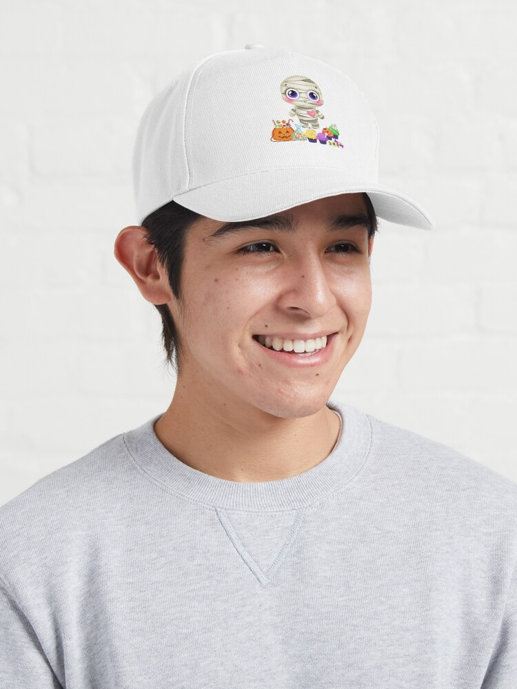 Alternate view of Cute Halloween Theme Shirt Cap