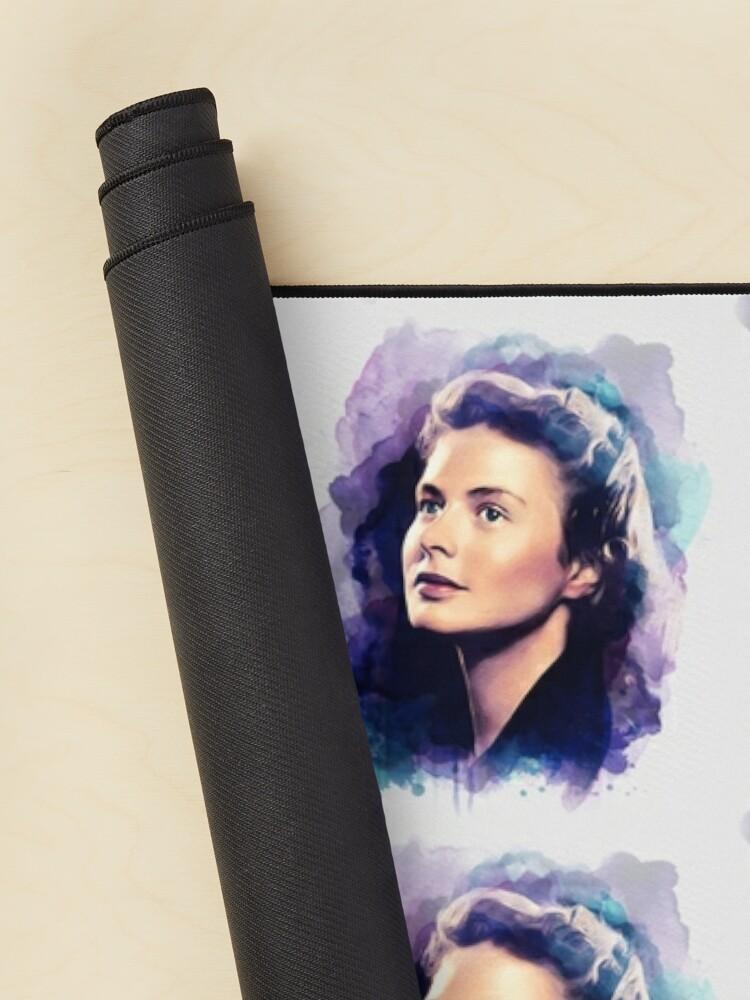 Alternate view of Ingrid Bergman, Movie Legend Mouse Pad