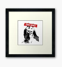 Free Binks Framed Print
