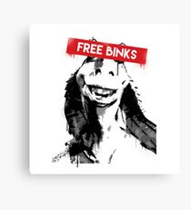 Free Binks Canvas Print