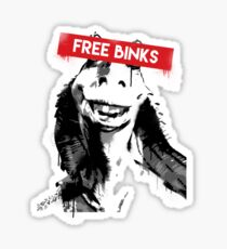Free Binks Sticker
