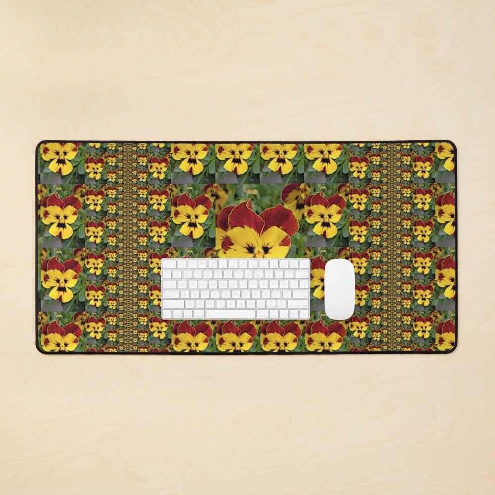 Pansy Party 1 Mouse Pad