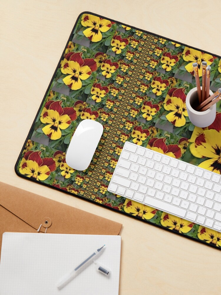 Alternate view of Pansy Party 1 Mouse Pad