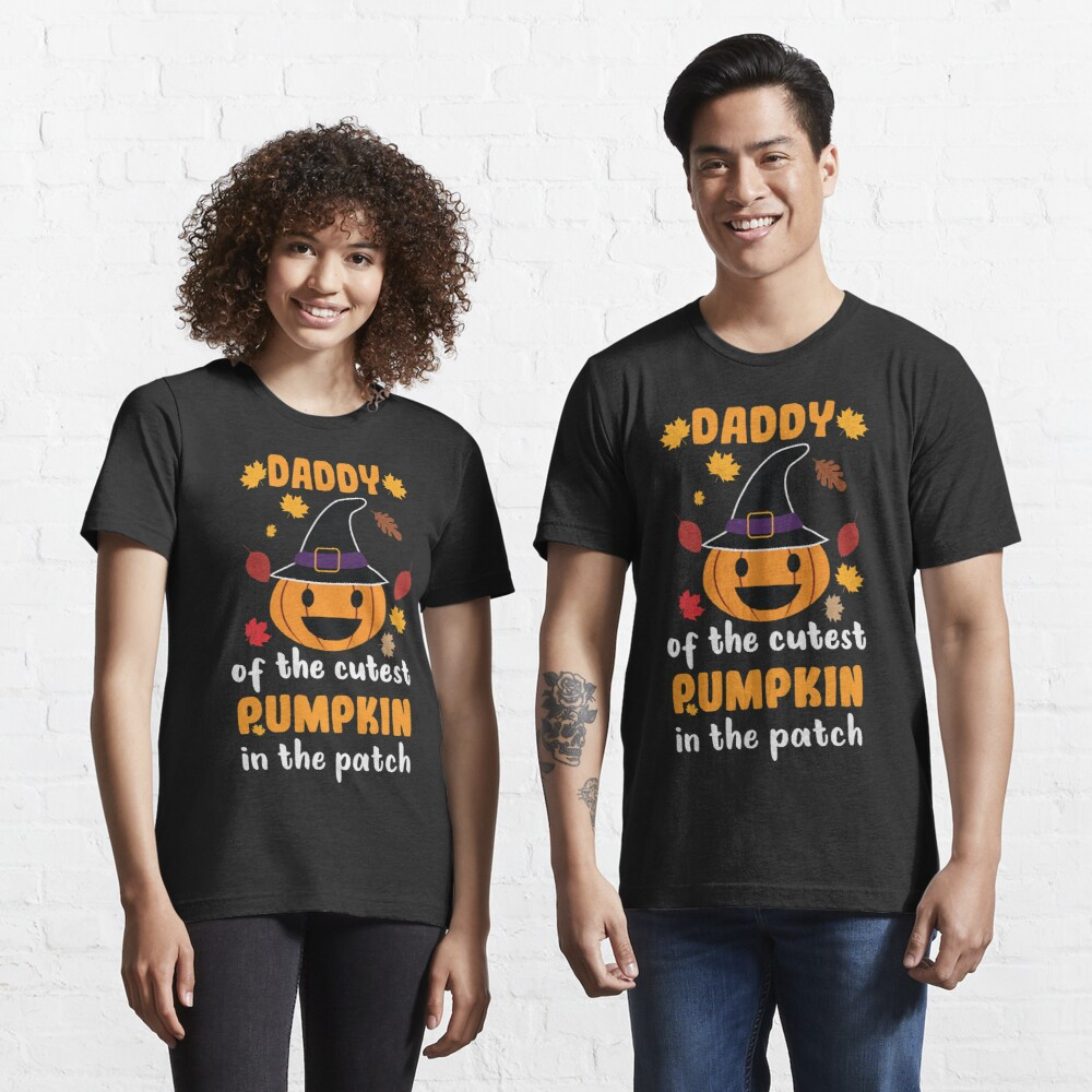 Mens Daddy of the Cutest Pumpkins in the Patch Fall Festival Essential T-Shirt