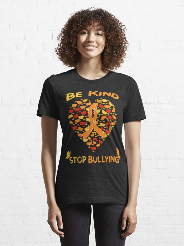 Alternate view of Be Kind Unity Day Stop Bullying Prevention Month October Essential T-Shirt