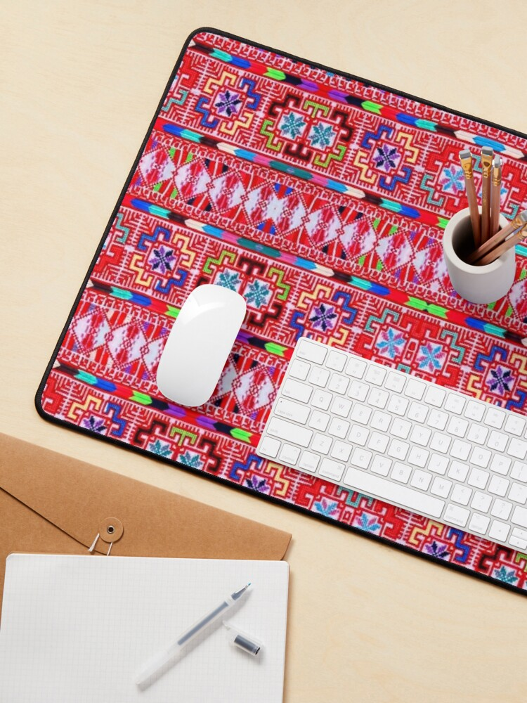 Alternate view of Red and Colors Design Mouse Pad