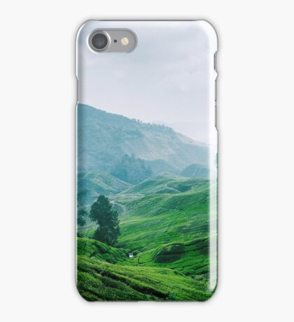 Tea Plantation, Malaysia. iPhone Case/Skin