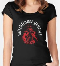 Matthew Hopkins - Witchfinder General Women's Fitted Scoop T-Shirt