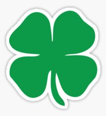 4 leaf clover Sticker