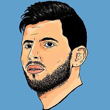 Sergio Aguero - Manchester City by Matty723