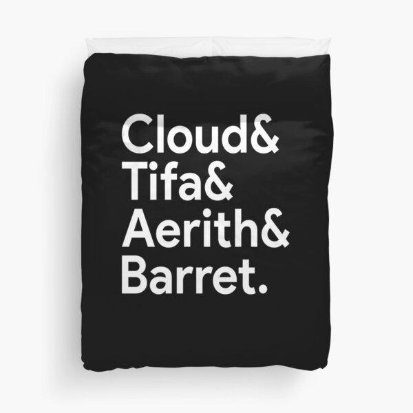 Wolke Tifa Aerith Barret Bettbezug