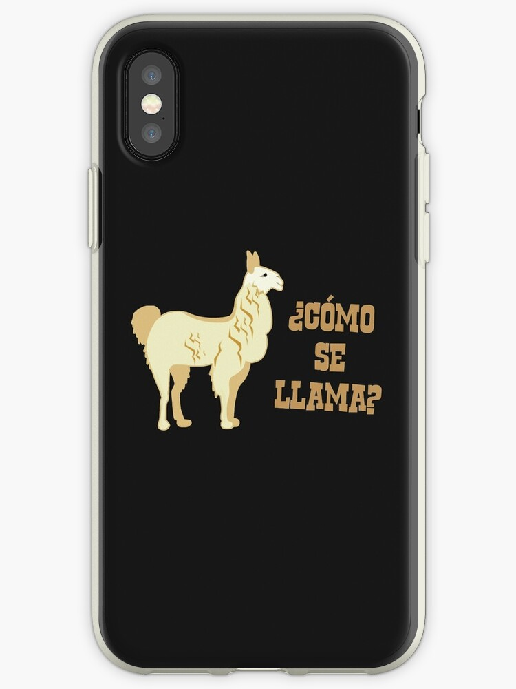 premium selection add5f 9f11e 'Como Se Llama? What is your name?' iPhone Case by TheShirtYurt