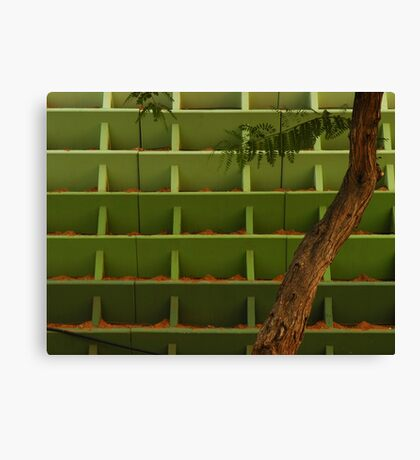 Parallel Universe + Tree Canvas Print