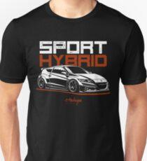 Sport Hybrid. Honda CRZ Unisex T-Shirt