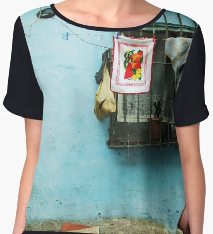 Domestic Women's Chiffon Top