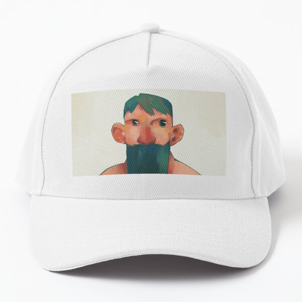 Green beard Baseball Cap