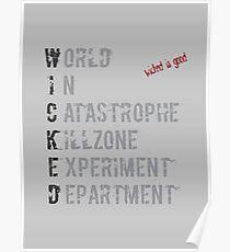 W.I.C.K.E.D. Poster