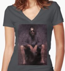 Big Lebowski - The Dude Women's Fitted V-Neck T-Shirt